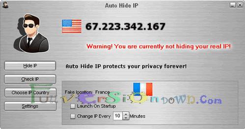 Auto Hide IP Full Version