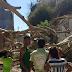 Árvore de grande porte desaba sobre casa no interior da Bahia