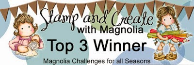 "TOP 3""Stamp and Create with Magnolia#37"""