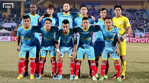 Đội hình Sanna Khánh Hòa V League 2016