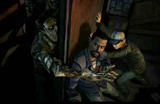 The Walking Dead game petualangan melawan zombie
