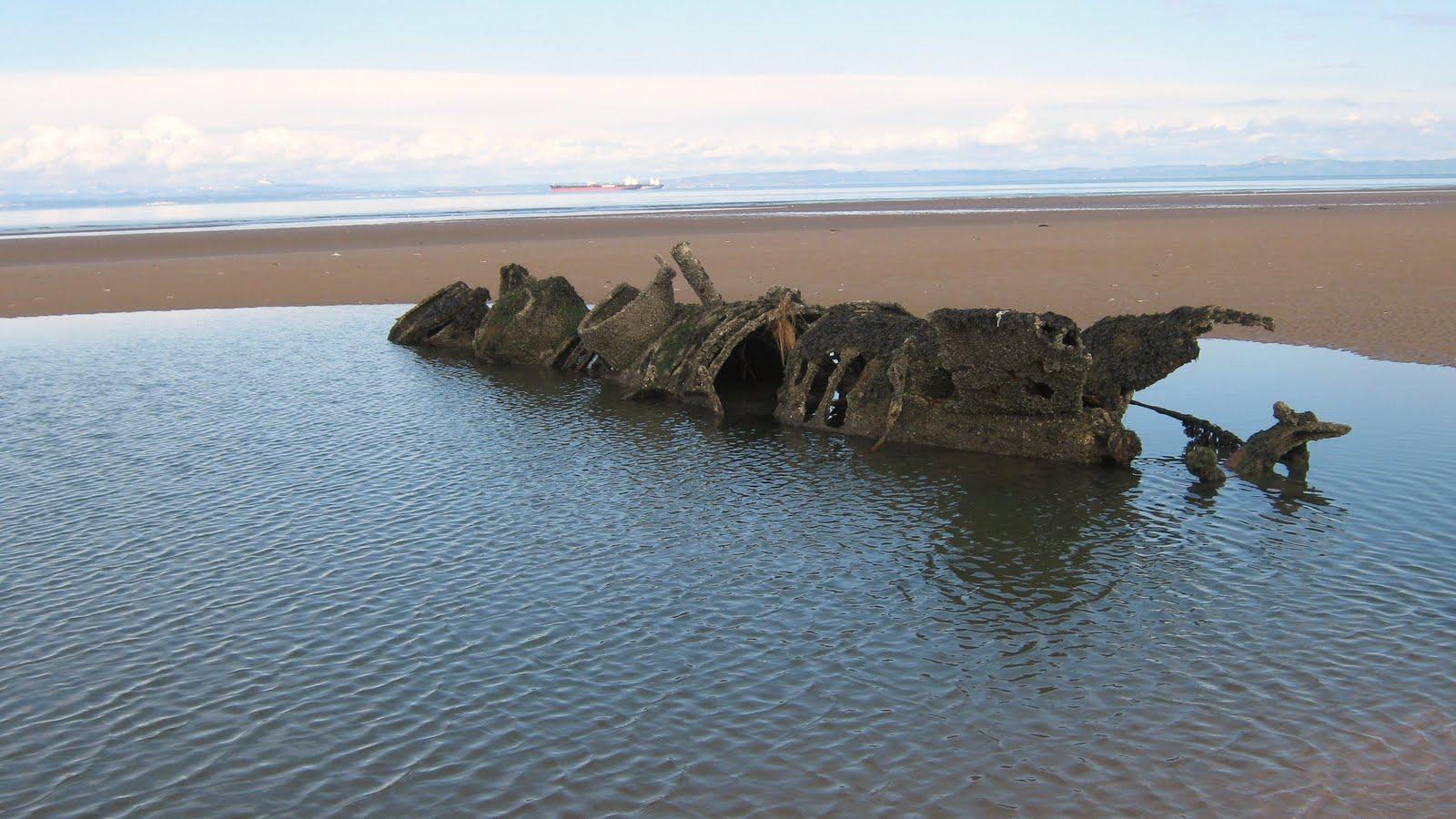 coastrider: WW2 XT Class Submarine Wrecks, Aberlady Bay