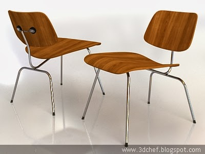 living room chair 3d model