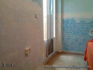 Eliminar imperfecciones de las paredes