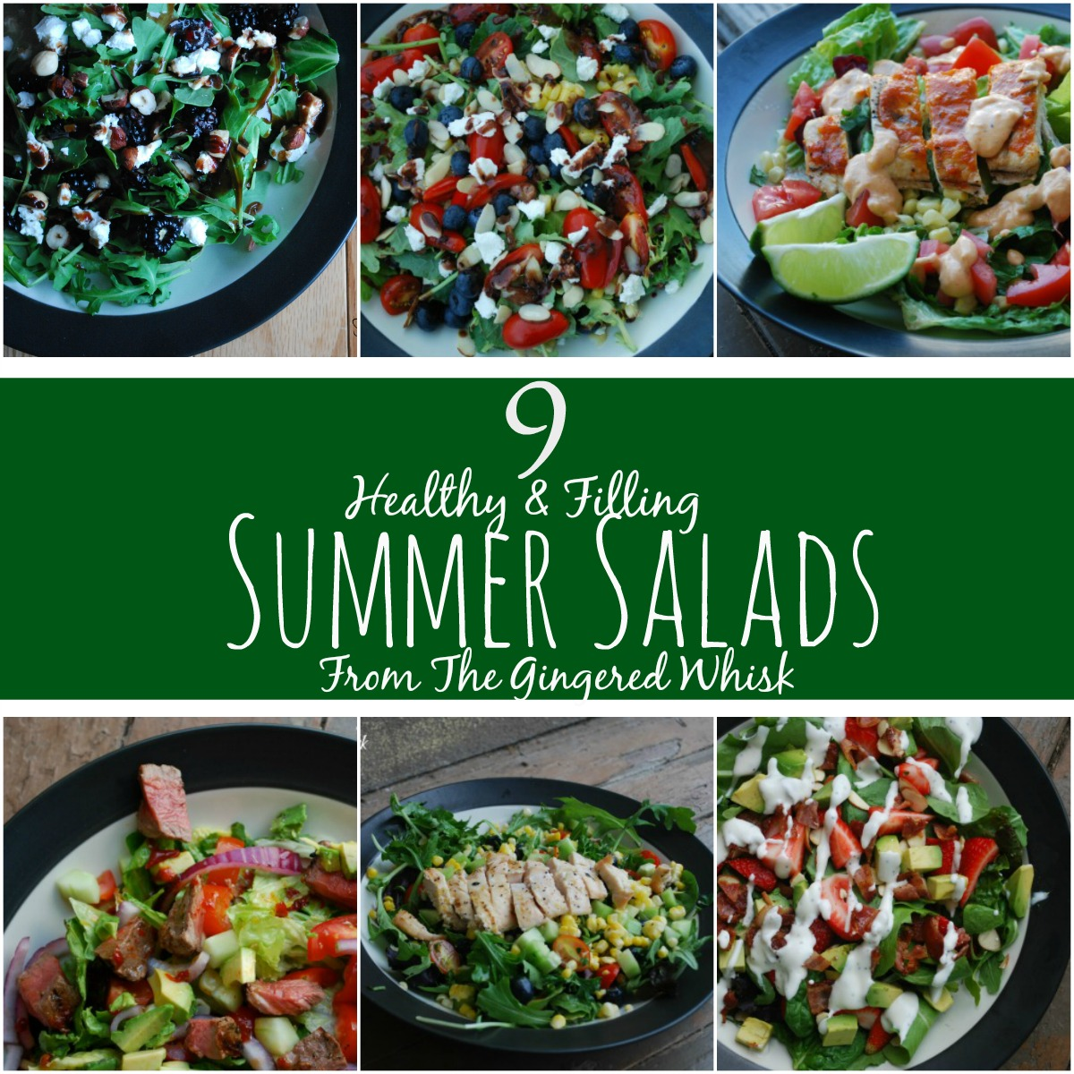 9 Delicious And Filling Summer Salad Recipes You Can Have
