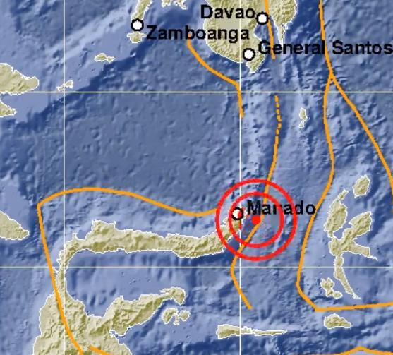 Astagfirullah! Sehabis Dieng, Sekarang Gempa 5,6 Skala Richter Terjang Manado