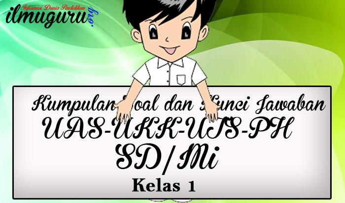 Soal UAS/UKK/UTS Kelas 1 Full Mapel