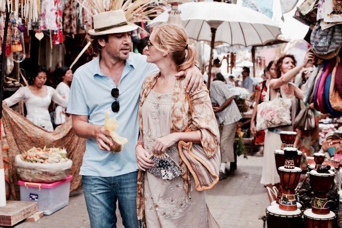 Eat pray love, Julia Roberts Ubud Bali, Julia Roberts market Bali ubud, jedz módl się kochaj film ubud bali