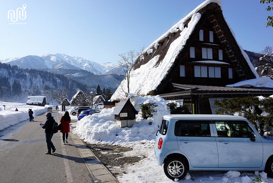 หมู่บ้านชิราคาวาโกะ (Shirakawa-go) ประเทศญี่ปุ่น