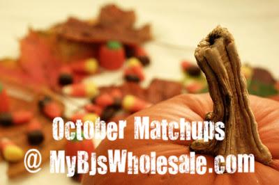 BJs Coupon Matchups for October 2013