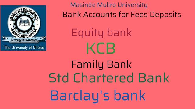 Bank accounts mmust