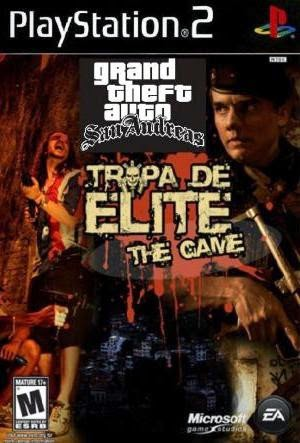 Grand Theft Auto Tropa De Elite Ps2 Ntsc Mega Identi