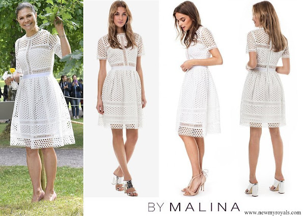 Crown Princess Victoria wore By Malina Emily dress