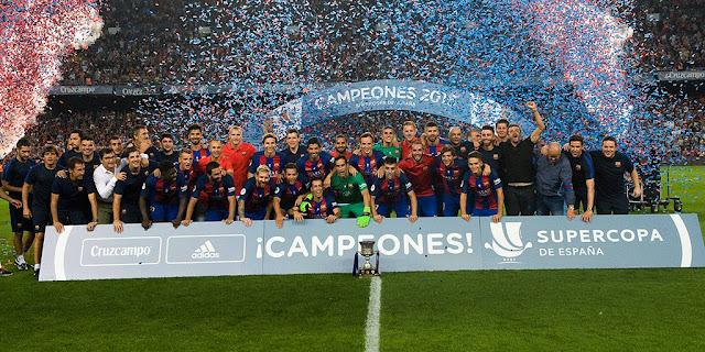 FCBarcelona, campeón de la Supercopa de España 2016