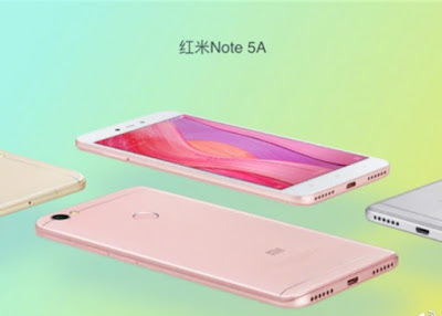Xiaomi Redmi Note 5A Will Be Release with a selfie-centric variants
