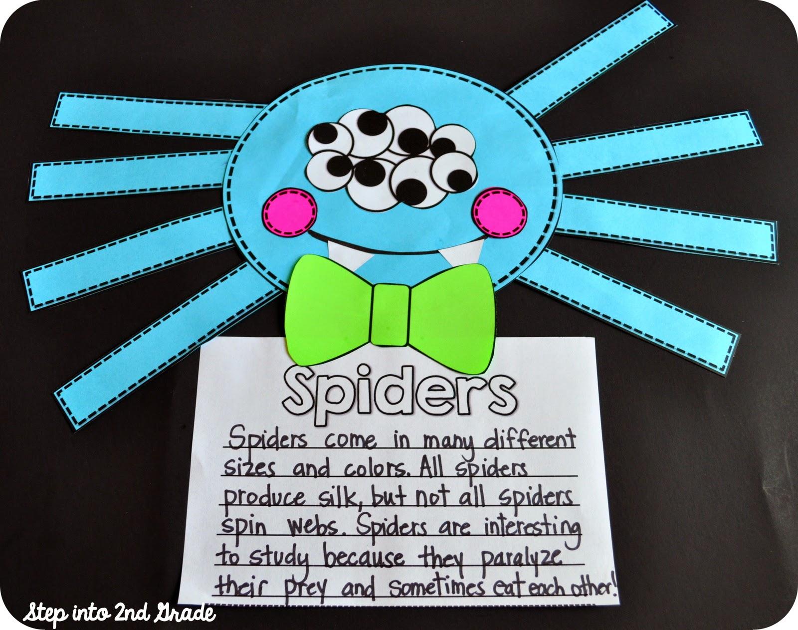 Step Into 2nd Grade With Mrs Lemons Eekkk Spiders
