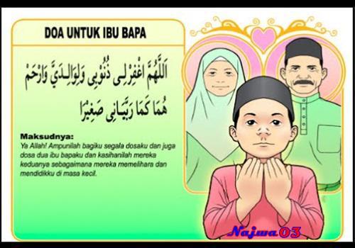 Bacaan Doa Untuk Kedua Orang Tua Lengkap Dengan Artinya