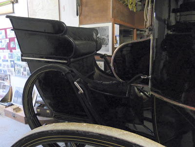 Rumble seat on a travelling chariot, Red House Stables