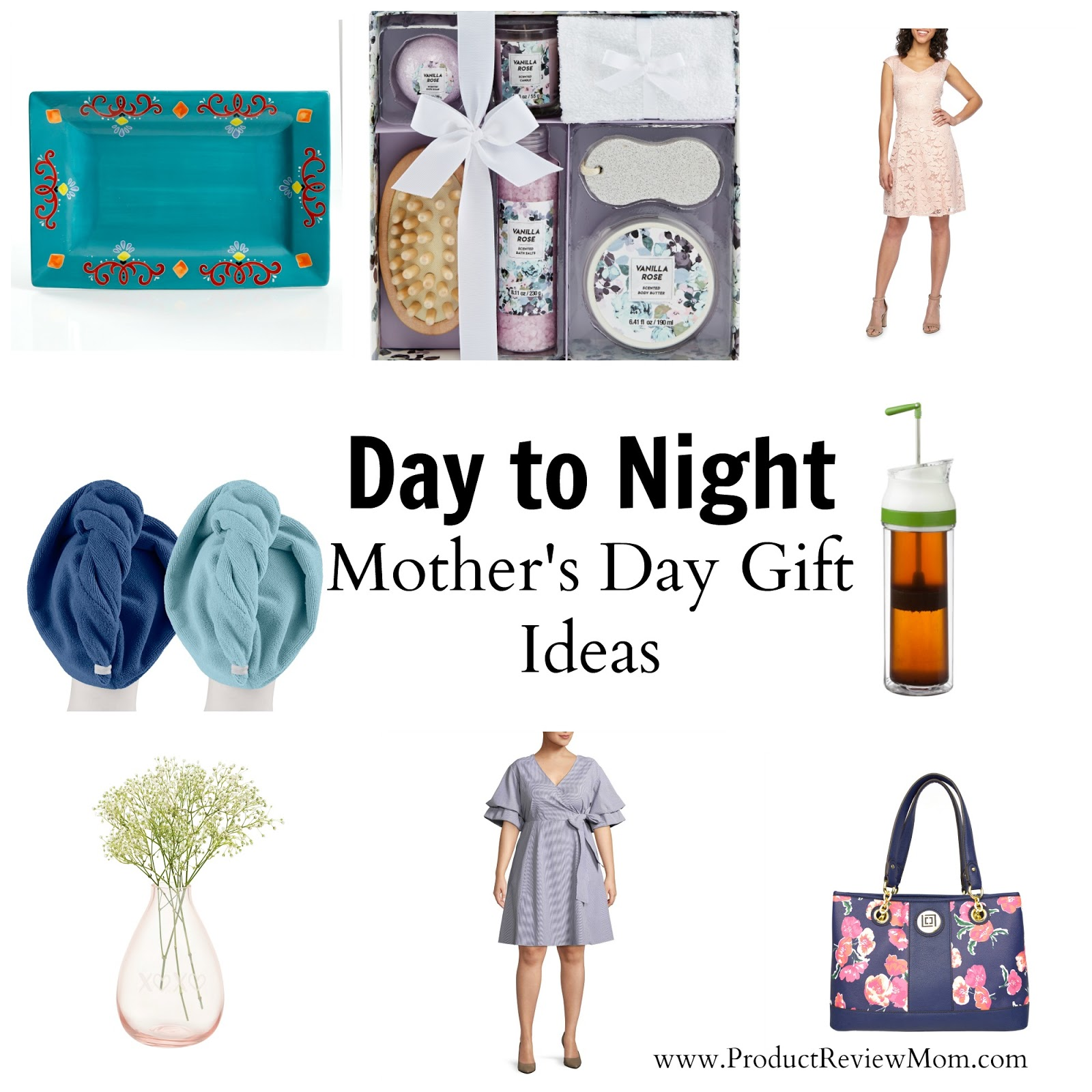 Day to Night Mother's Day Gift Ideas  via  www.productreviewmom.com
