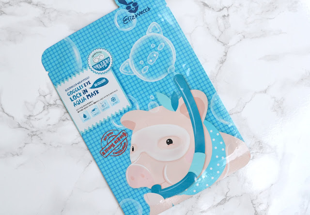 Elizavecca Milkypiggy Bio-Cellulose Goggles Eye Lock In Aqua Mask