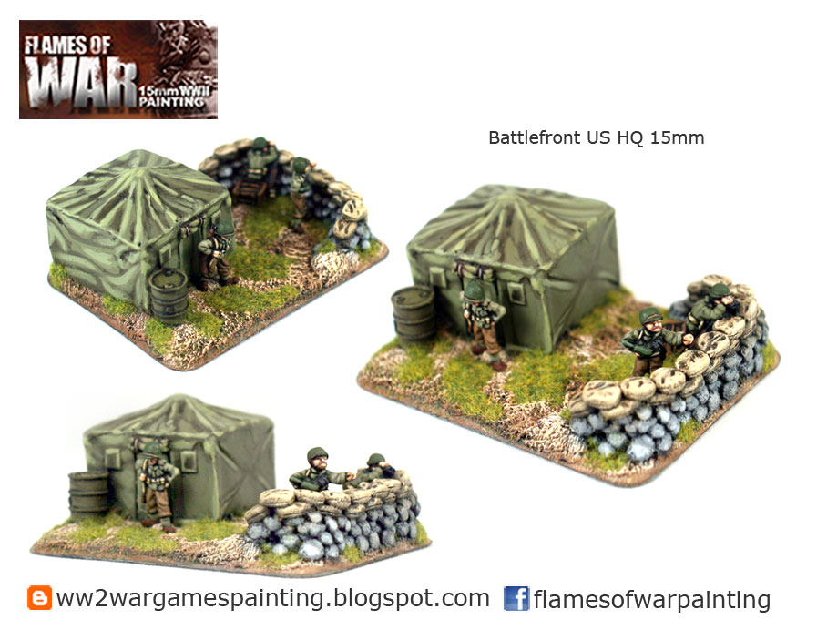 15mm Battlefront US HQ
