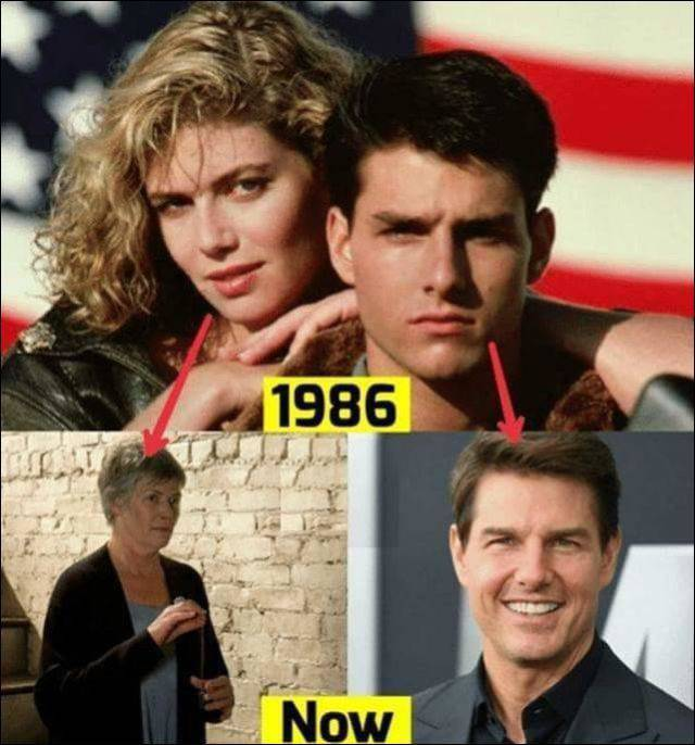 Tom Cruise Vs Kelly McGillis
