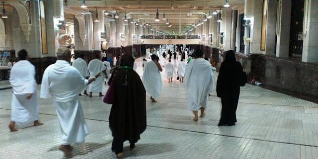 Jamaah Haji Asal Tegal Ini Meninggal Dalam Pelukan Suami Saat Melaksanakan Sai Di Tanah Suci