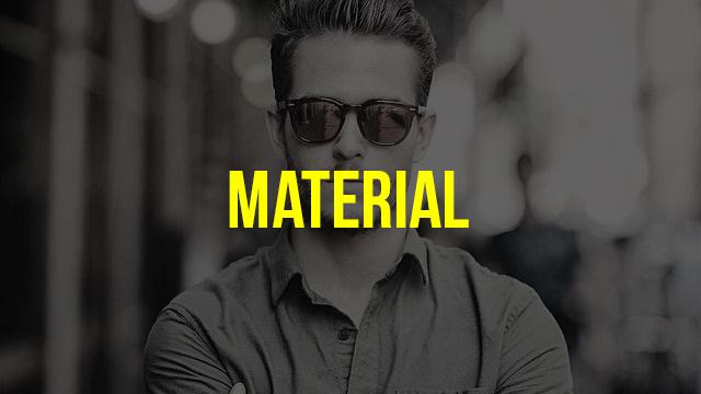 b13e8f693 E pra fechar as 5 Dicas para Comprar um Óculos de Sol Masculino temos essa  última, mas não menos importante: o Material! Existem diversos tipos de  materiais ...