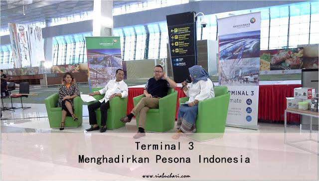 Terminal 3 Menghadirkan Pesona Indonesia