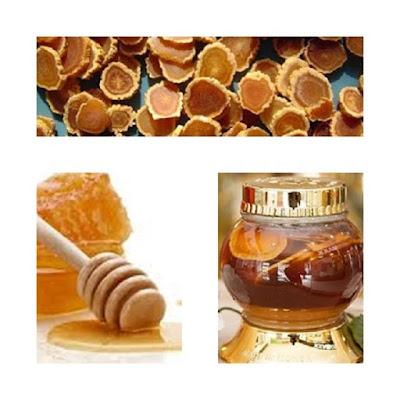Sâm Ngọc Linh ngâm mật ong là cách chế biến hiệu quả đối với sức khỏe của phái nữ