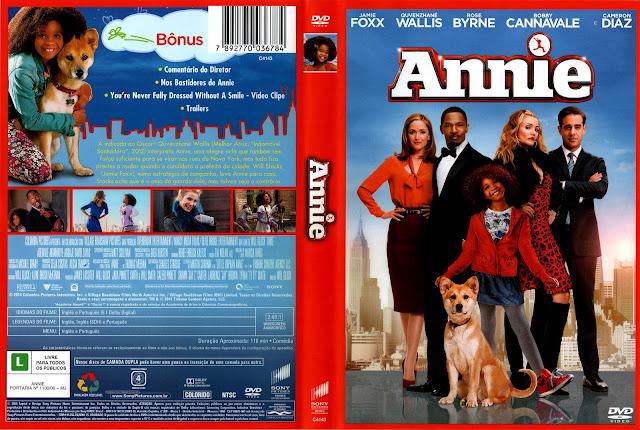 Capa DVD Annie