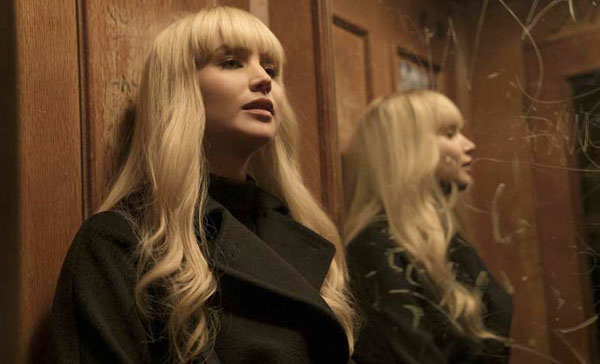 Jennifer Lawrence plays Dominika Egorova in RED SPARROW (2018)