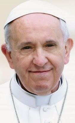 Foto de Papa Francisco (Jorge Mario Bergoglio) sin lentes