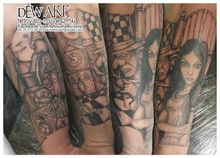 Teli alkaros tetoválás minta, egyedileg tervezve, Tervezte, Nagyváti Dávid Déw art. Ha te is egyedi tetoválást szeretnél akkor keresd Déwet telefonon munka időben a 06 30 570 26 45-ös mobil telefon számon!