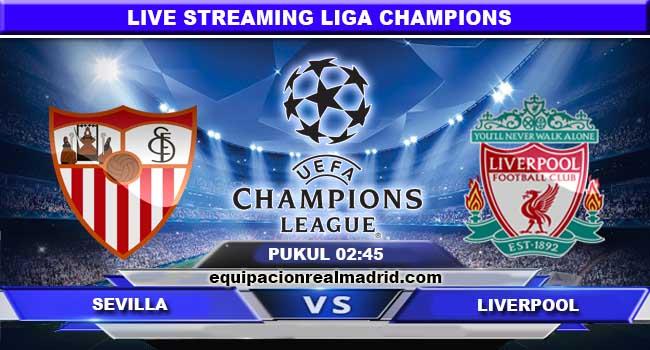 live streaming sevilla vs liverpool 22 november 2017
