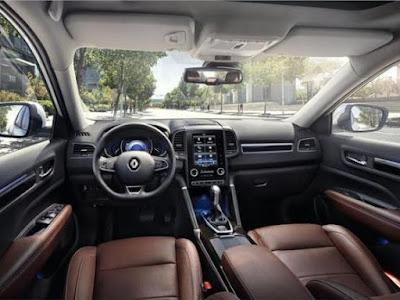 New 2017 Renault Koleos Facelift interior Hd Photos