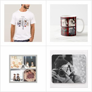 photo collage gifts man dad husband grandpa