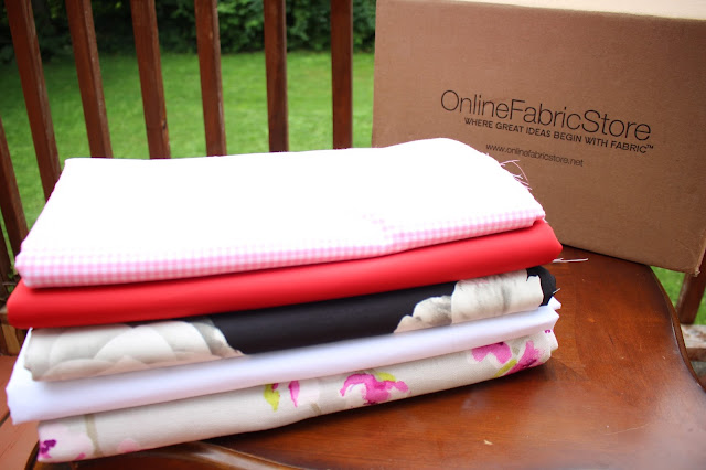 My Style Oasis, Fabric Haul. Online Fabric Store, OnlineFabricStore.net
