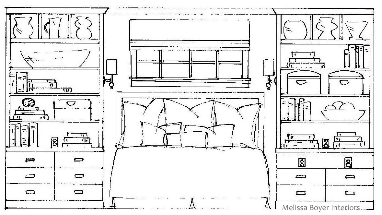 Project Peek: Master Bedroom Drawings