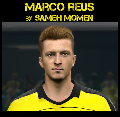 PES 2016 Marco Reus face by Sameh Momen