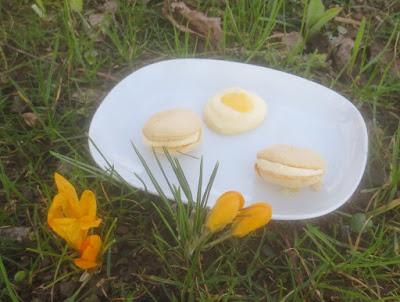 Macarons mit Eierlikör-Frischkäse-Füllung
