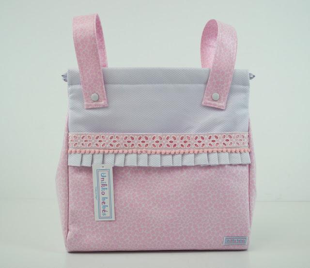 Bolsas para carrito print rosa