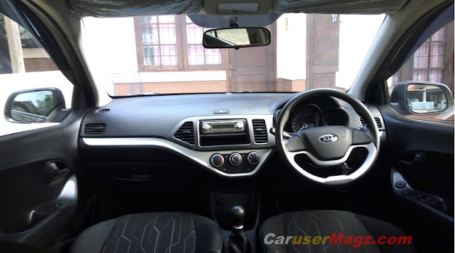 Interior KIA All New Picanto - dashboard