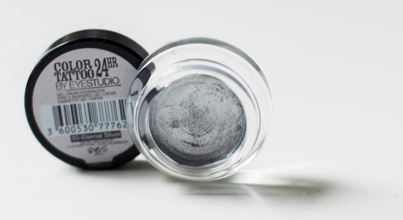maybelline color tattoo, silver
