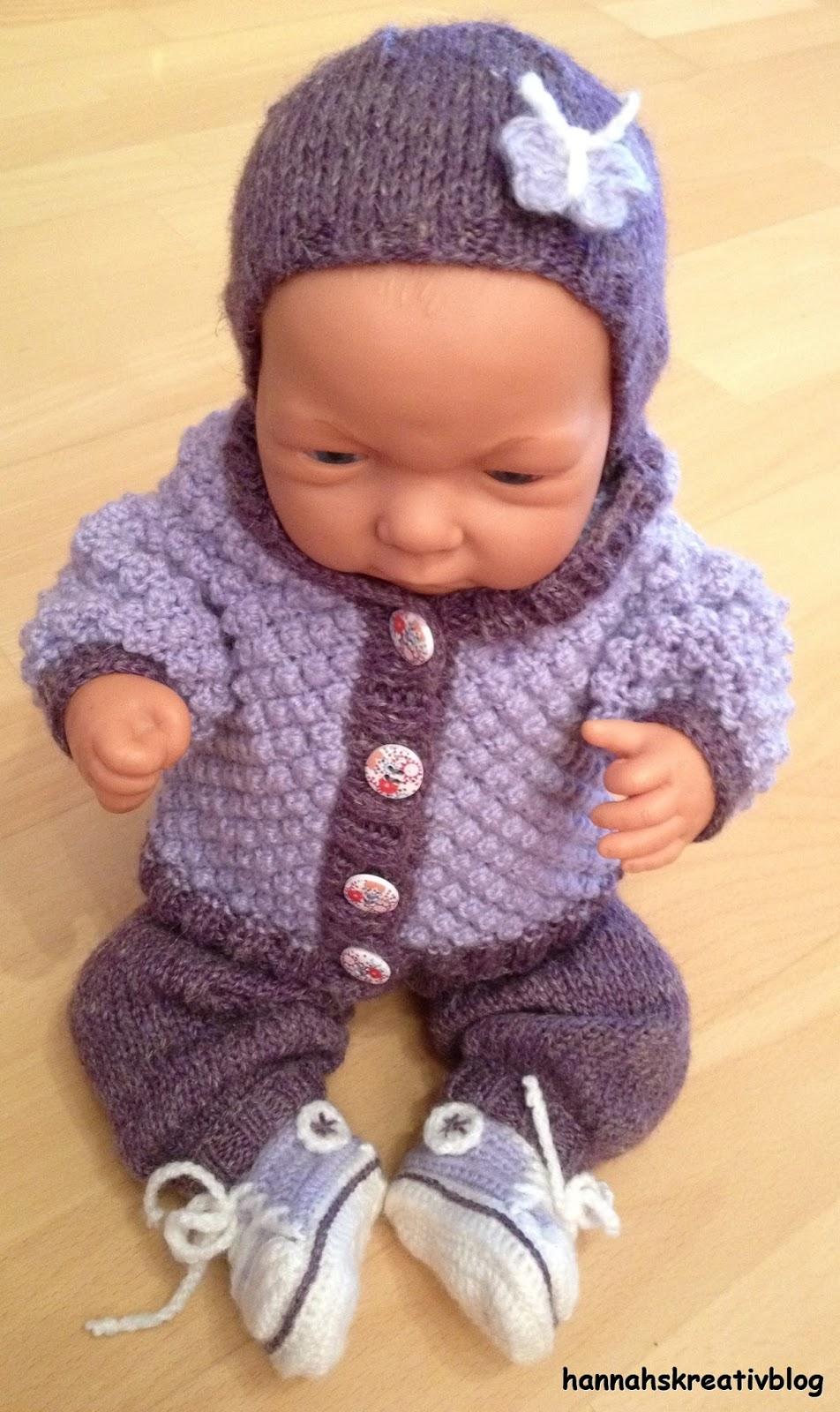 Hannahs Kreativblog Puppenkleidung Für Winter
