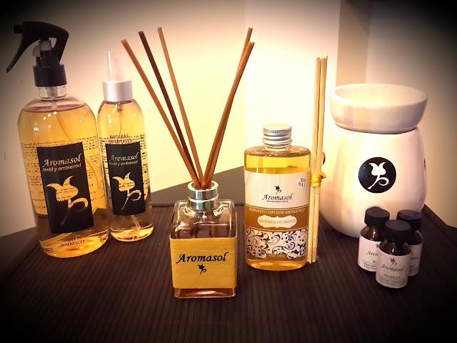 Variedad de aromas orientales
