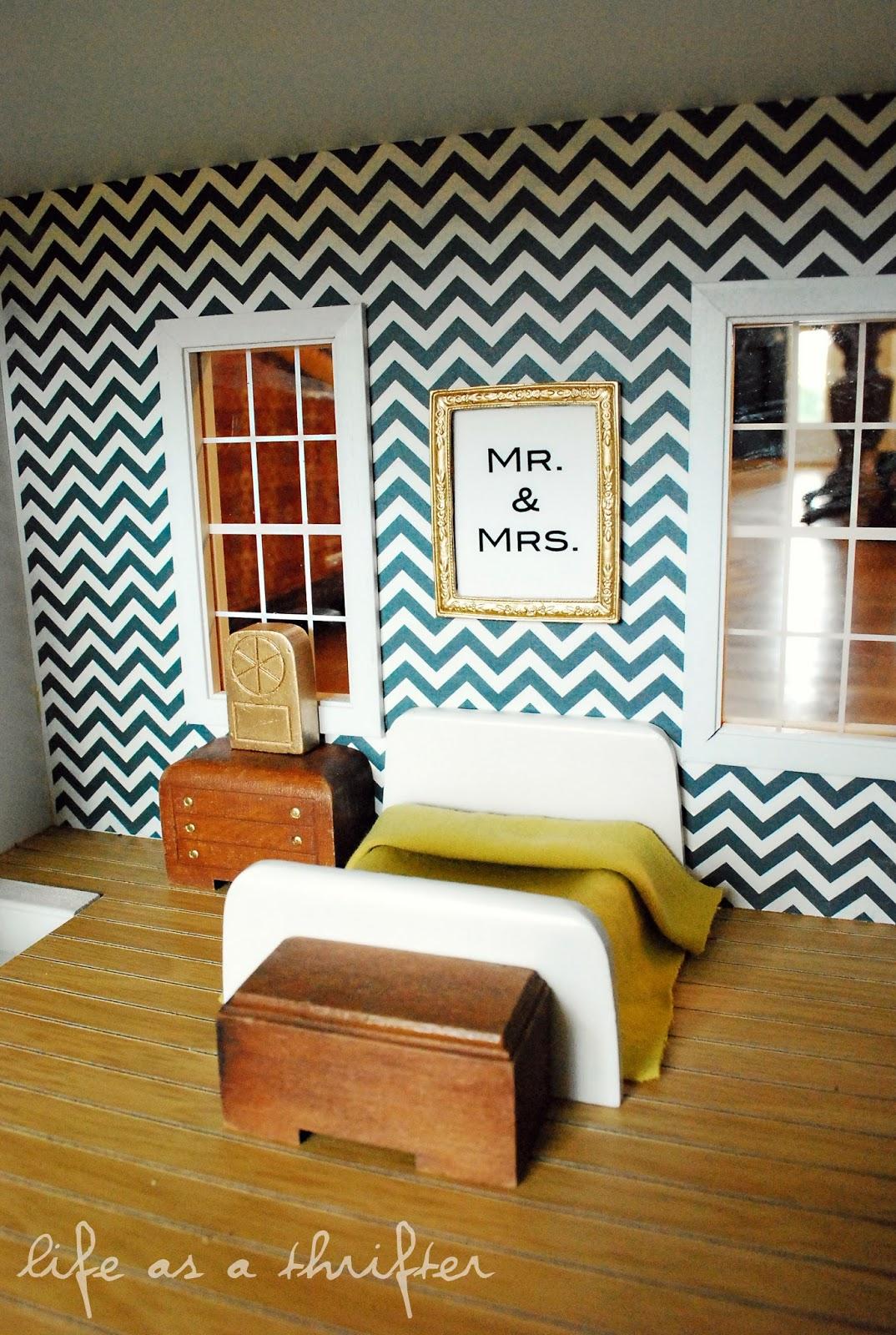 Life As A Thrifter Dollhouse Details Diy Wall Art