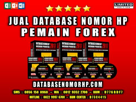 Jual Database Nomor HP Pemain Forex