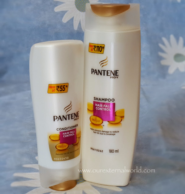 Pantene Hair Fall Control Shampoo & Conditioner Review - 14DayChallenge!
