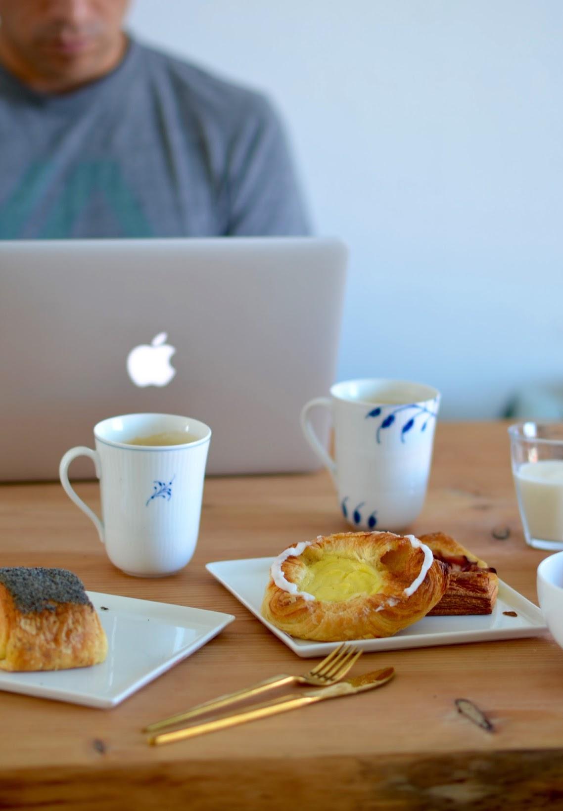 Copenhagen breakfast, what to eat for breakfast in Copenhagen, Meyers Bageri danish, Tebirkes